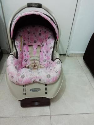 Porta Bebe Graco con Base para Carro