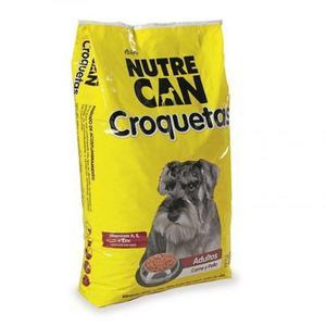 Alimento Para Perro Nutrecan Adultos Croqueta 15kg