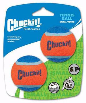 Juguete Perros Chuckit Tennis Ball Alta Visibilidad Small 2
