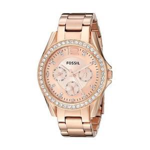 Reloj Fossil Es2811 Acero Oro Rosa Mujer