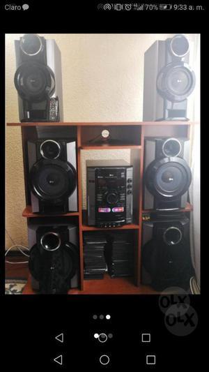 Equipo de Sonido Lg  W de Salida