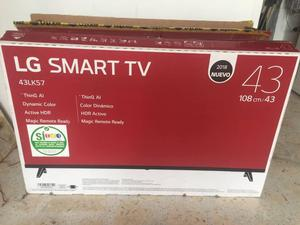 LG 43 LK FULL HD SMART NUEVECITO  SIN USAR