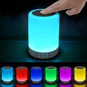 Parlante Portatil Bluetooth Led Touch Colores Jt328