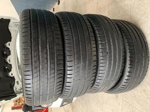 4 Llantas Michelin Lat Sport R17 casi nuevas 4 rines