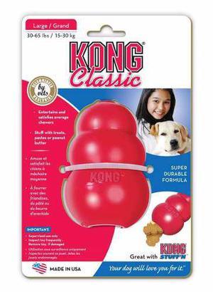 Juguete Perros Kong Classic Talla L Large Grande