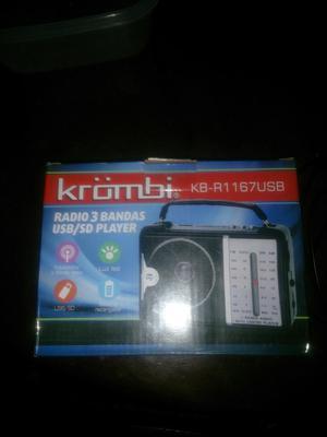 Radio Fmusbam con Bateria Y Cable