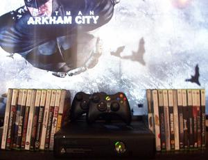 Xbox g con kinect, 2 controles, guitarra hero y 30