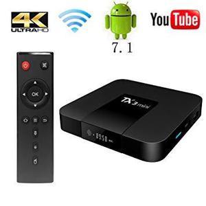 TV BOX ANDROID 4K SMART TV CON 2GB RAM 16 GB INTERNOS