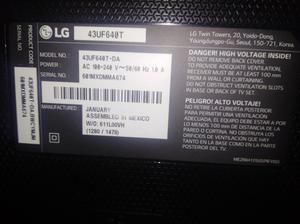 Vendo Tv Lg de 43 Smartv 4k