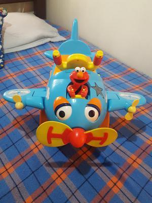 Carrito Avión Montable de Elmo