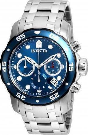 Reloj Invicta 21784 Acero Plateado Hombre