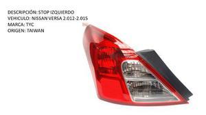 Stop Izquierdo Nissan Versa 2.012-2.015 Tyc