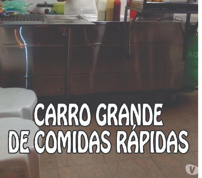 VENTA DE CARRO PARA COMIDAS RÁPIDAS