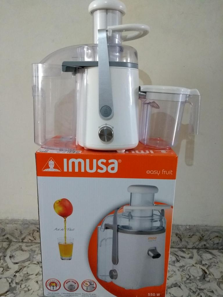 Extractor Jugo Imusa Easy Fruit 550 Watts