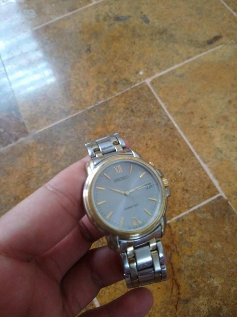 vencambio reloj seiko kinetic original
