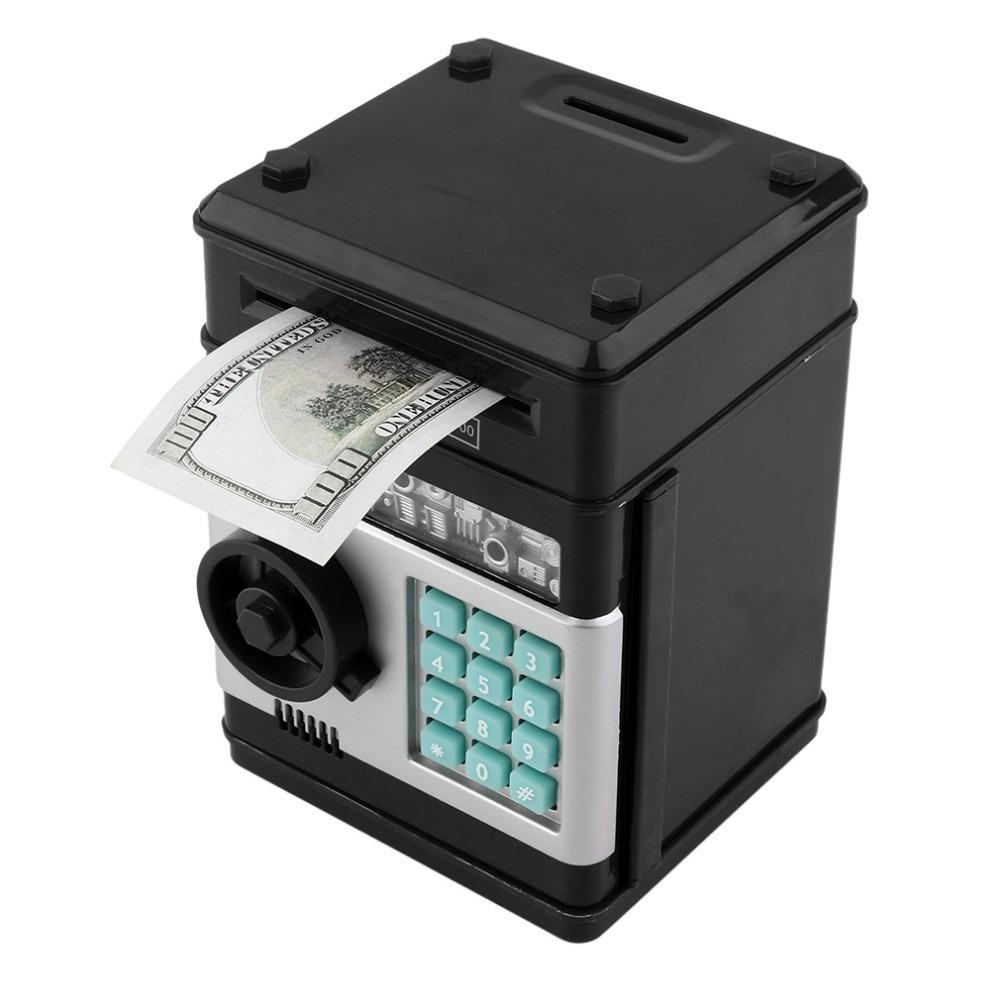 Alcancía Electrónica Traga Billetes Caja de Seguridad con