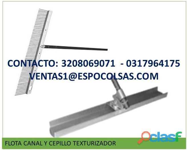 FLOTA CANAL DE 1.20 M T 1.50 MT NUEVA