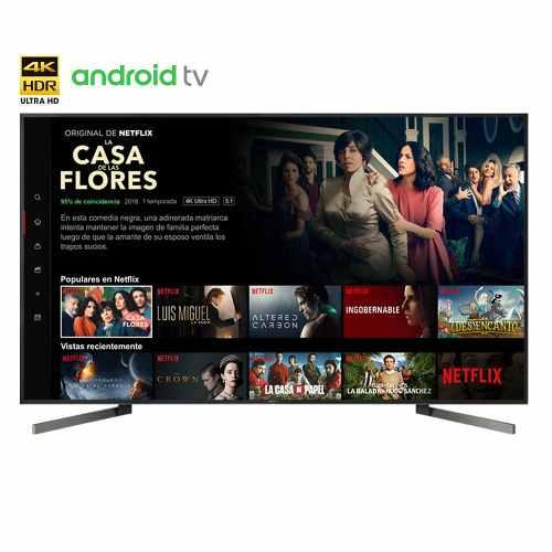 Televisor Sony 4k Hdr De 55 Android Tv - Xbr-55x907f