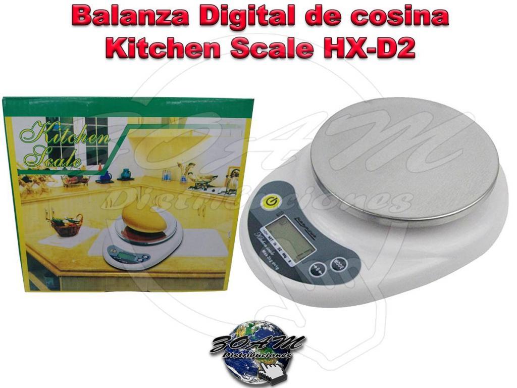 Gramera Balanza Digital de cosina bandeja en accero