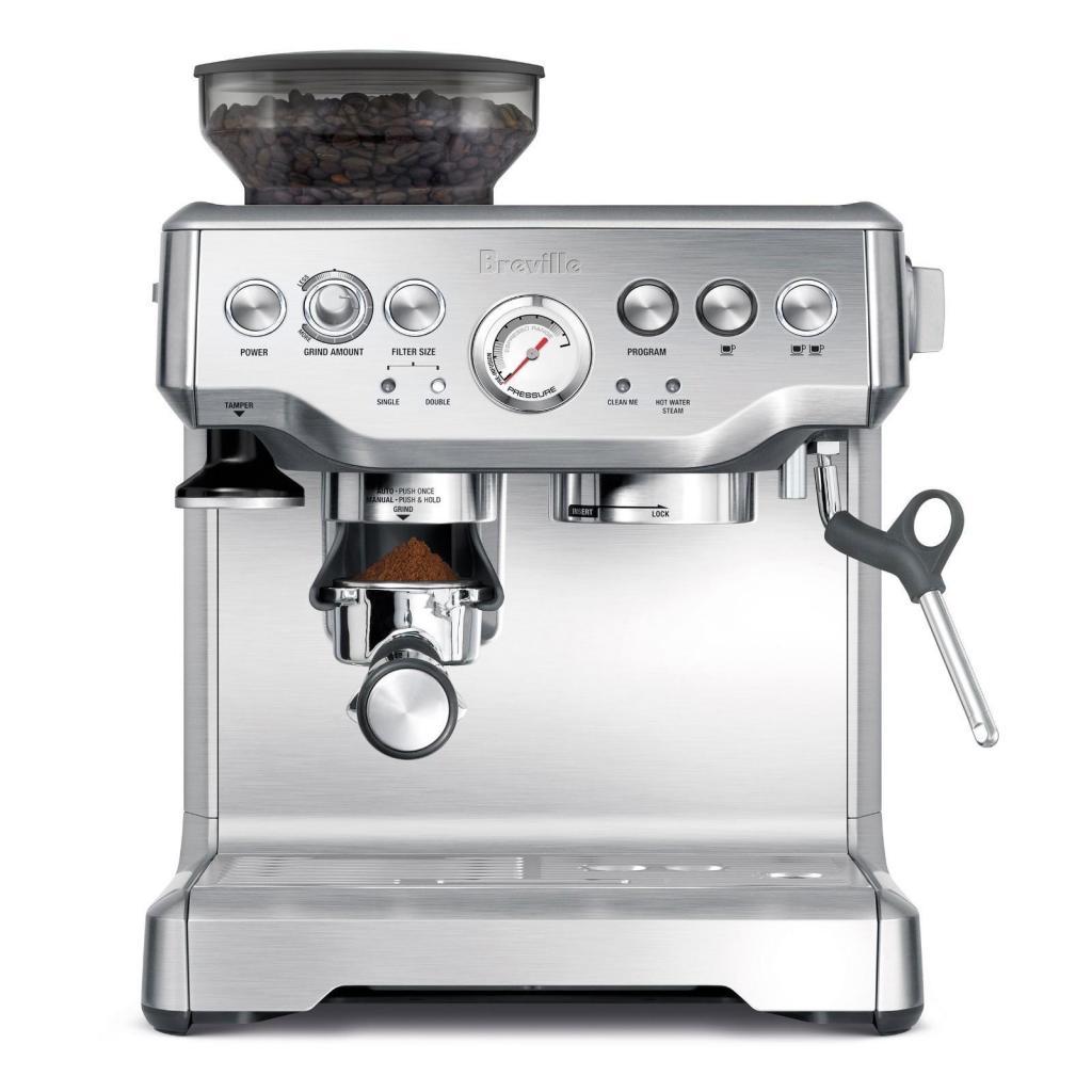 MAQUINA DE CAFE BREVILLE 870 CON MOLINO ENTEGA INMEDIATA