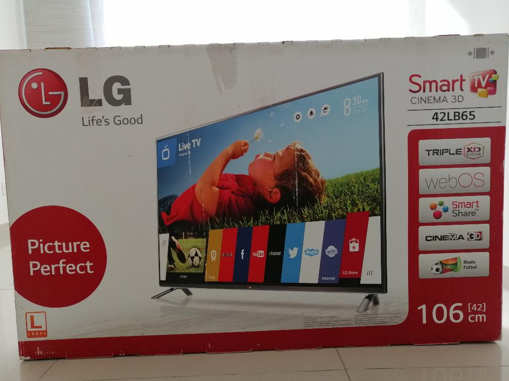 Televisor Lg Smart Tv Cinema 3d 42