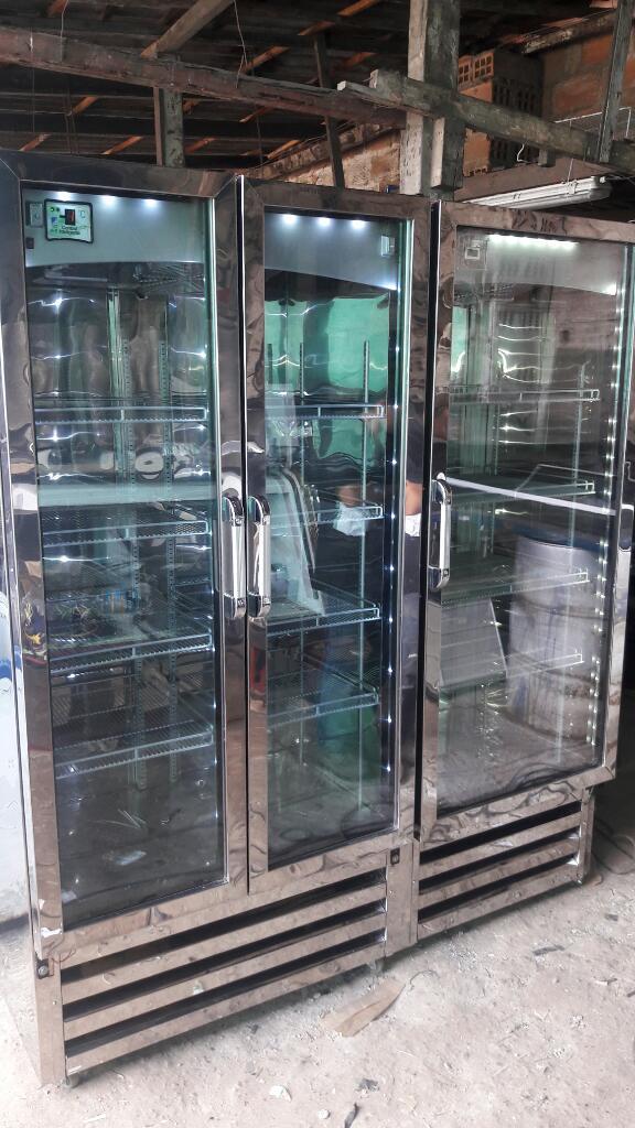 Vendo Refrigerador Y Congelador 3puertas
