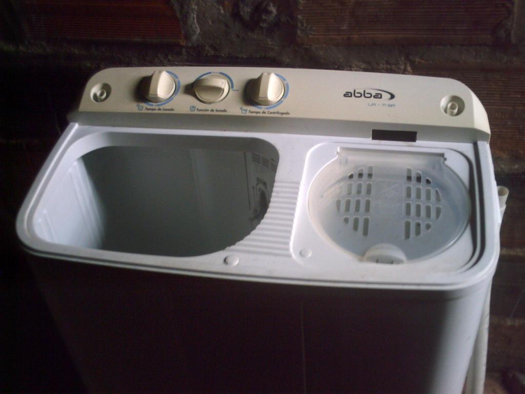 lavadora semiautomatica marca abba solo lava no seca