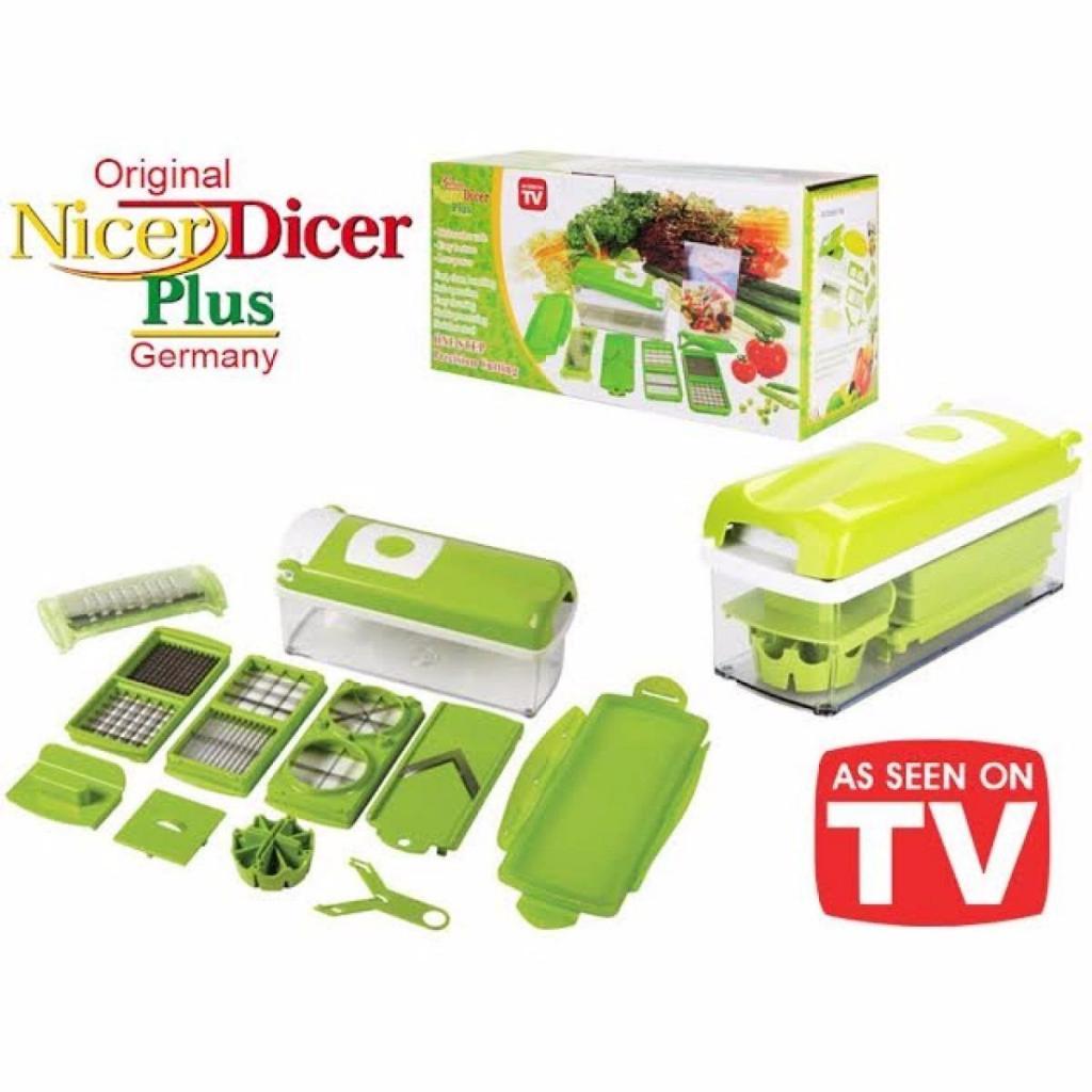 Nicer Dicer Plus Ayudante De Cocina Kit Multipicador On Tv