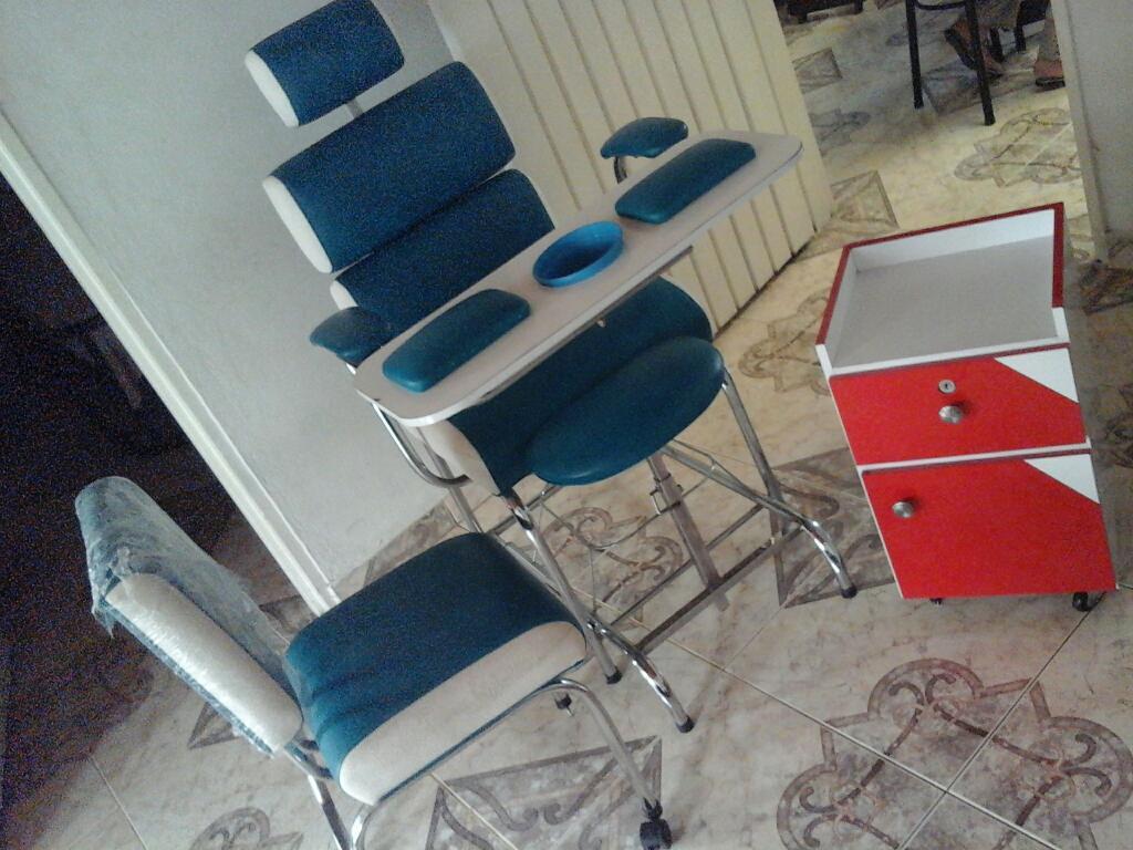 Juego de muebles para manicure y pedicure posot class - Sillas para pedicure ...