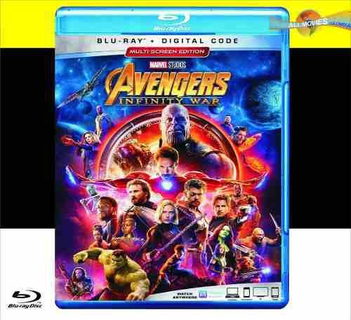Avengers: Infinity War (2018) Blu-ray + Hd Original!!
