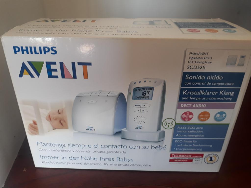 Monitor de sonido y temperatura cuarto de bebe