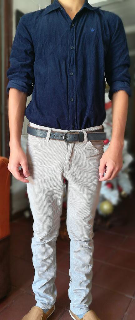 Pantalón Y Camisa Talla 12 Usado