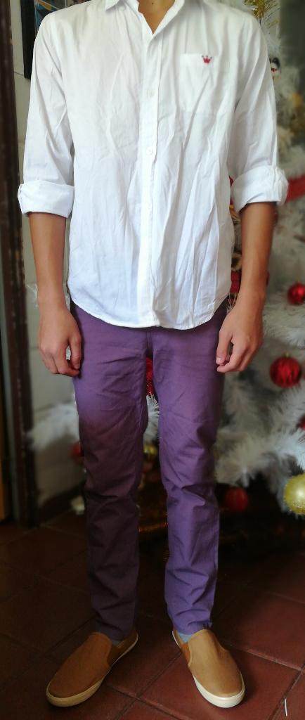 Pantalón Y Camisa Usados Talla 12