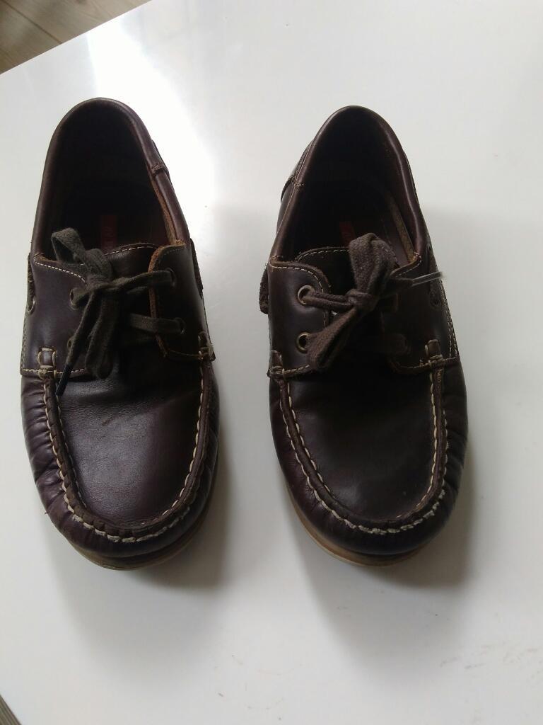 Zapatos Apache en Cuero para Niño