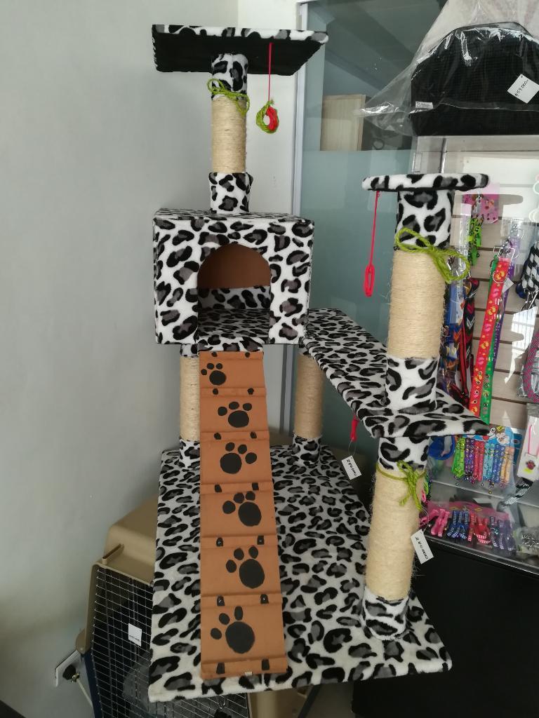 Gimnasio para Gato Juguete Casa Cama