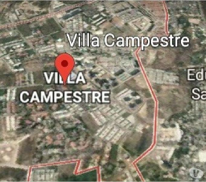 SE VENDE LOTE DE 1,500 MT2 SOBRE BULEVAR VILLA CAMPESTRE