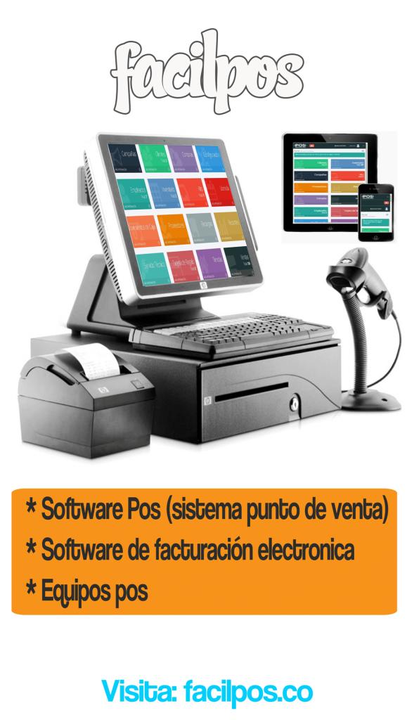 Software Pos  Facturación electrónica Whatsapp