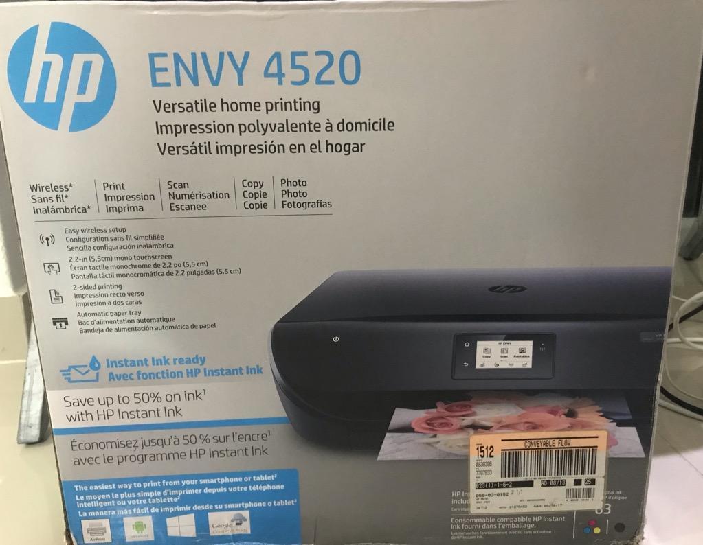 Vendo Impresora NUEVA Hp Envy