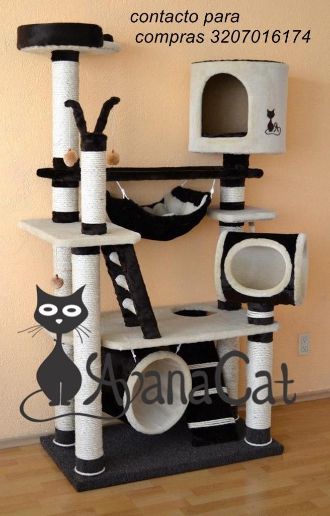 gymgato rascador gimnasios para gatos la super colección
