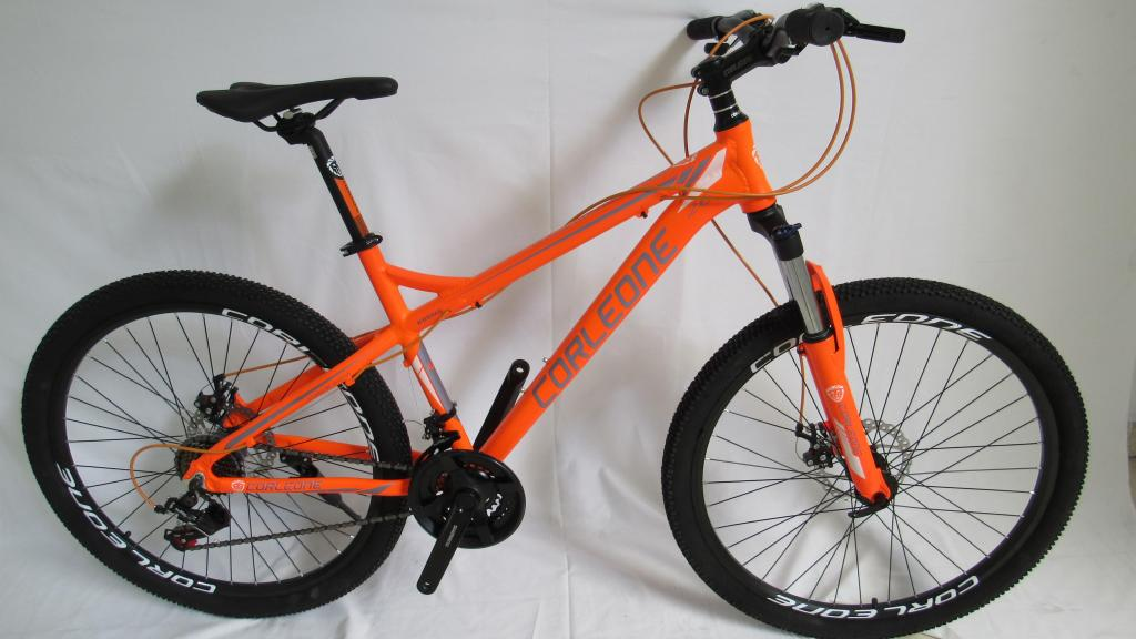 Bicicleta corleone rin 26 freno de disco 21 vel shimano