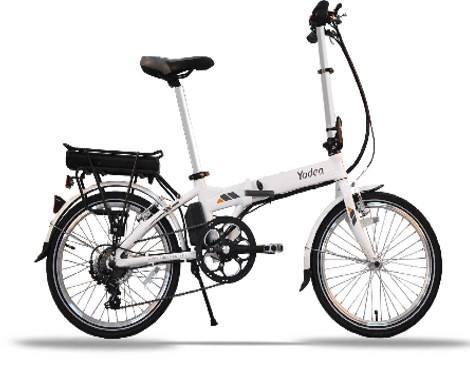 Bicicleta eléctrica plegable en Aluminio YADEA NUEVAS!!!