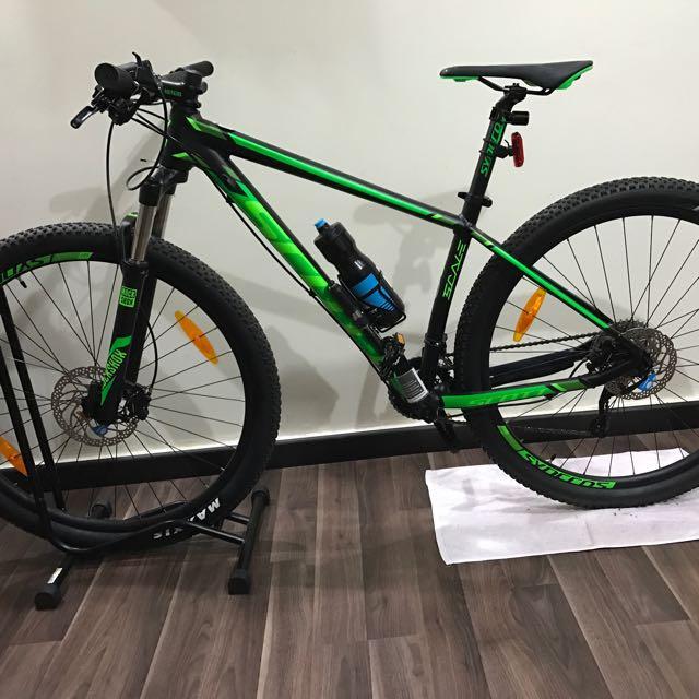 bicicleta mtb scott scale rin 29 grupo shimano xt