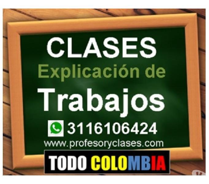 Clases de Contabilidad Tributaria NIIF a domicilio Medellin