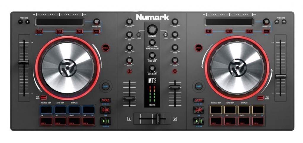 Consola DJ Numark Mixtrack 3 Todo En Uno Virtual DJ