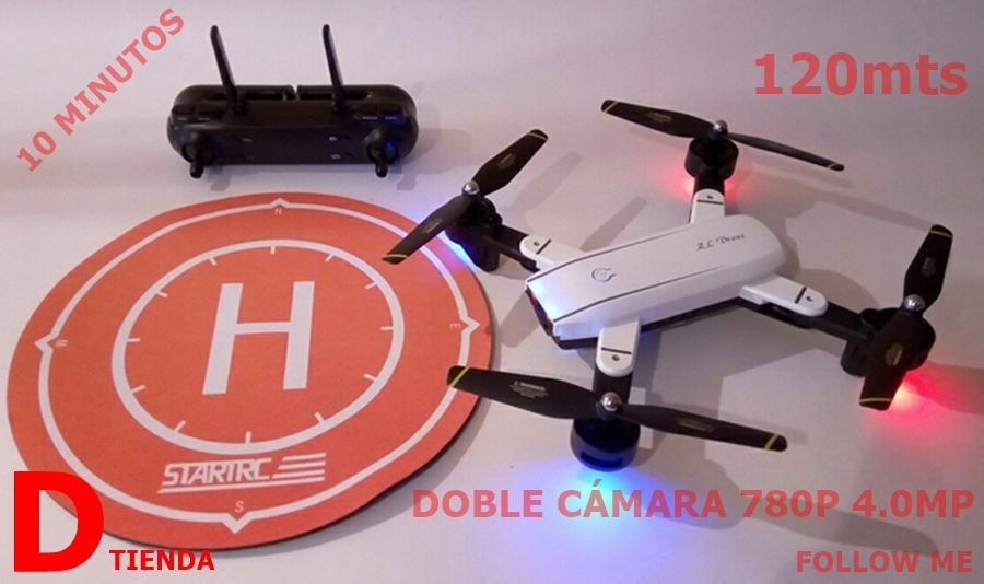 Dron DR SG70 dos Cámaras 780p SELFIE y FOLLOW ME doble
