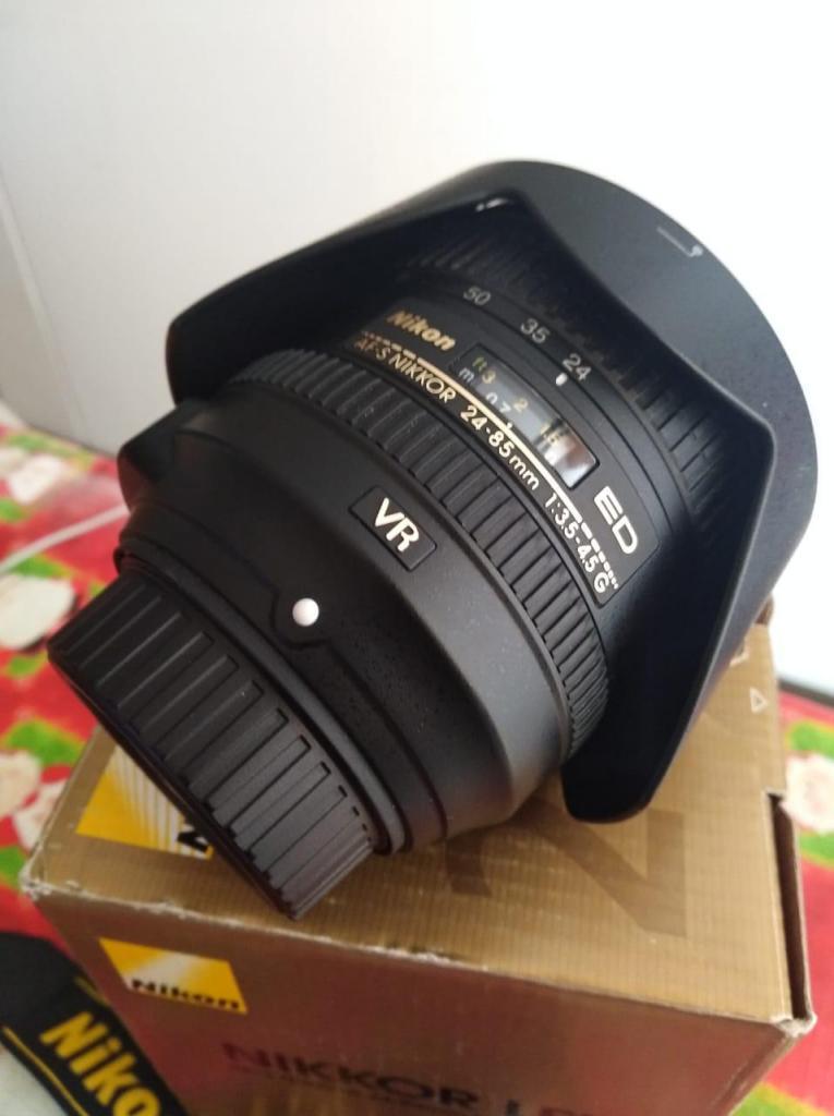Lente Nikon AFS mm f/