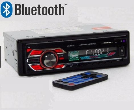 NUEVO!!RADIO PARA CARRO HUSKEE HKCR362, BLUETOOTH, USB, MP3,