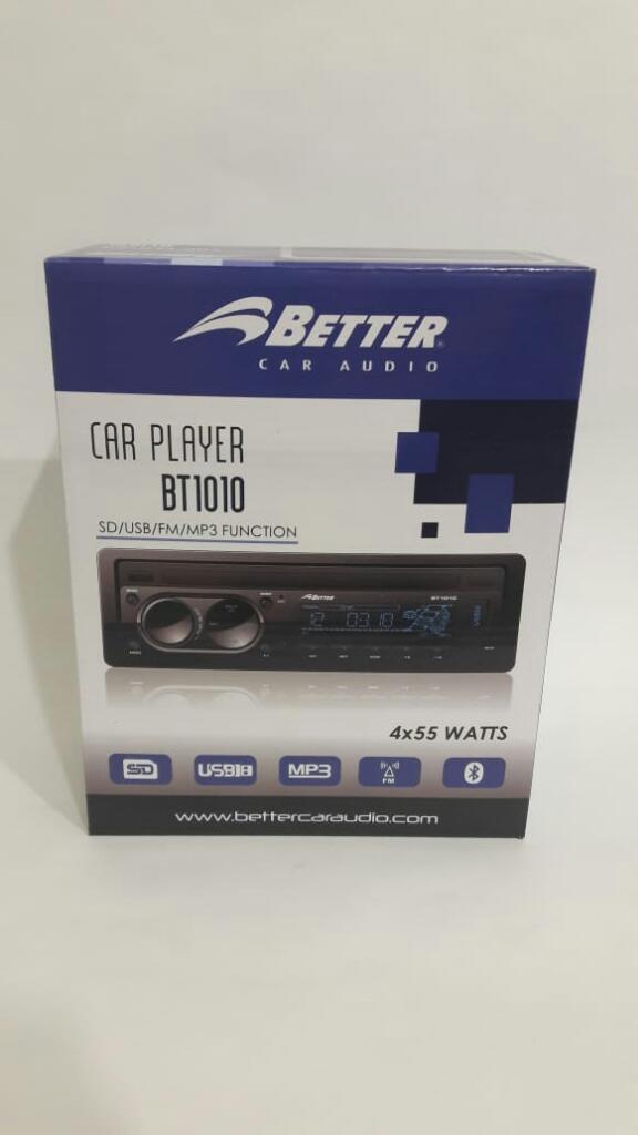 Radio para Carro Marca Better. Nuevo