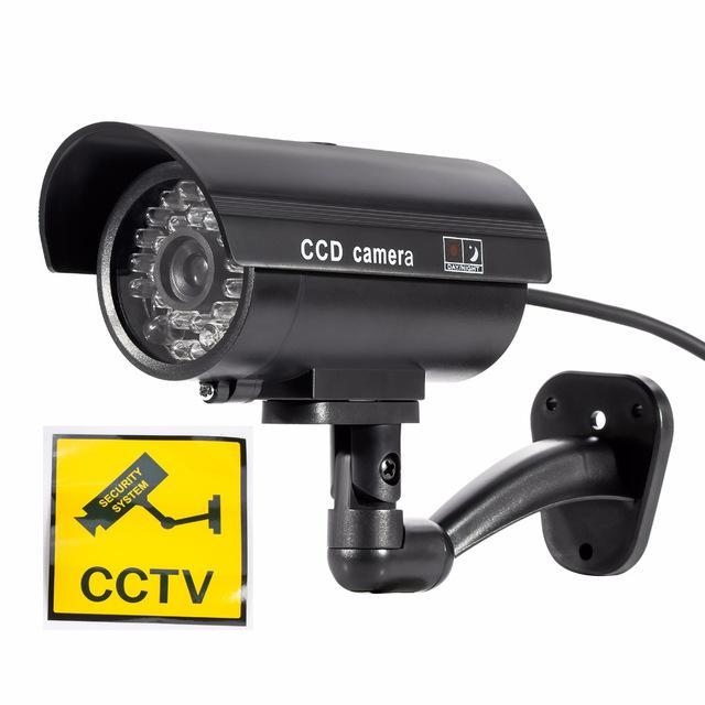 cámara de seguridad falsa tamaño real nueva