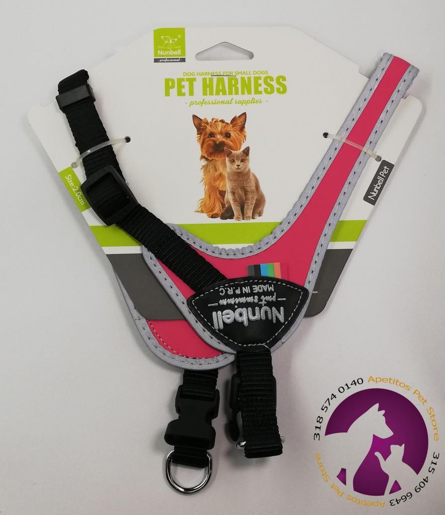 Arnes para perro y gato Pet Harness con cadena.